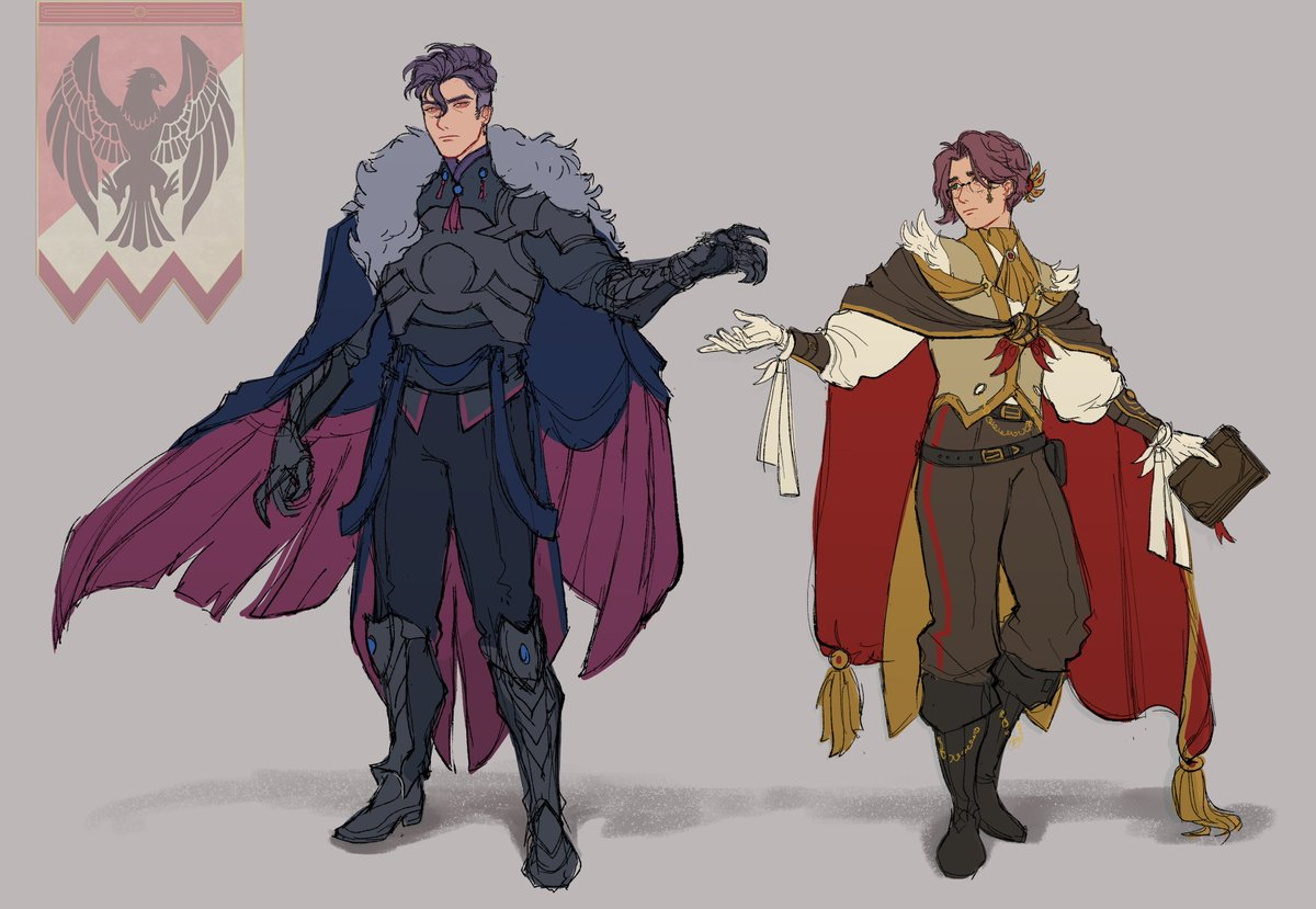 Somewhat delayed post timeskip designs!#FE3HOCPARTY #FireEmblemThreeHouses<br>http://pic.twitter.com/PWWoBmF1UF