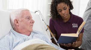 Hospice nurses and home health aides develop a deeper connections with their patients.