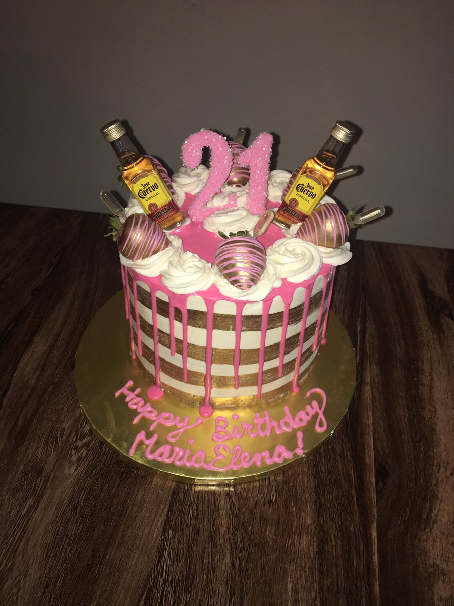 Cool Lulus Cakes Confections On Twitter Cute Simple 21St Funny Birthday Cards Online Benoljebrpdamsfinfo