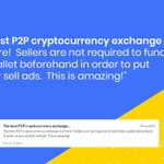 """Image for the Tweet beginning: ✨@LocalCoinSwap_ Review: """"The best #P2P"""