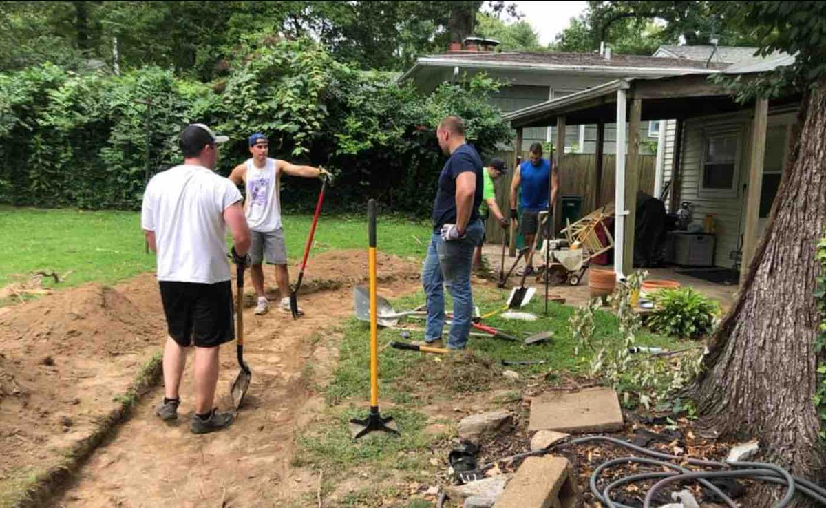#goodnews  When Firefighters See Senior Struggling in Wheelchair, They Spend Weekend Building Her a New Walkway  http://ow.ly/zASS101JdIi   via @goodnewsnetwork