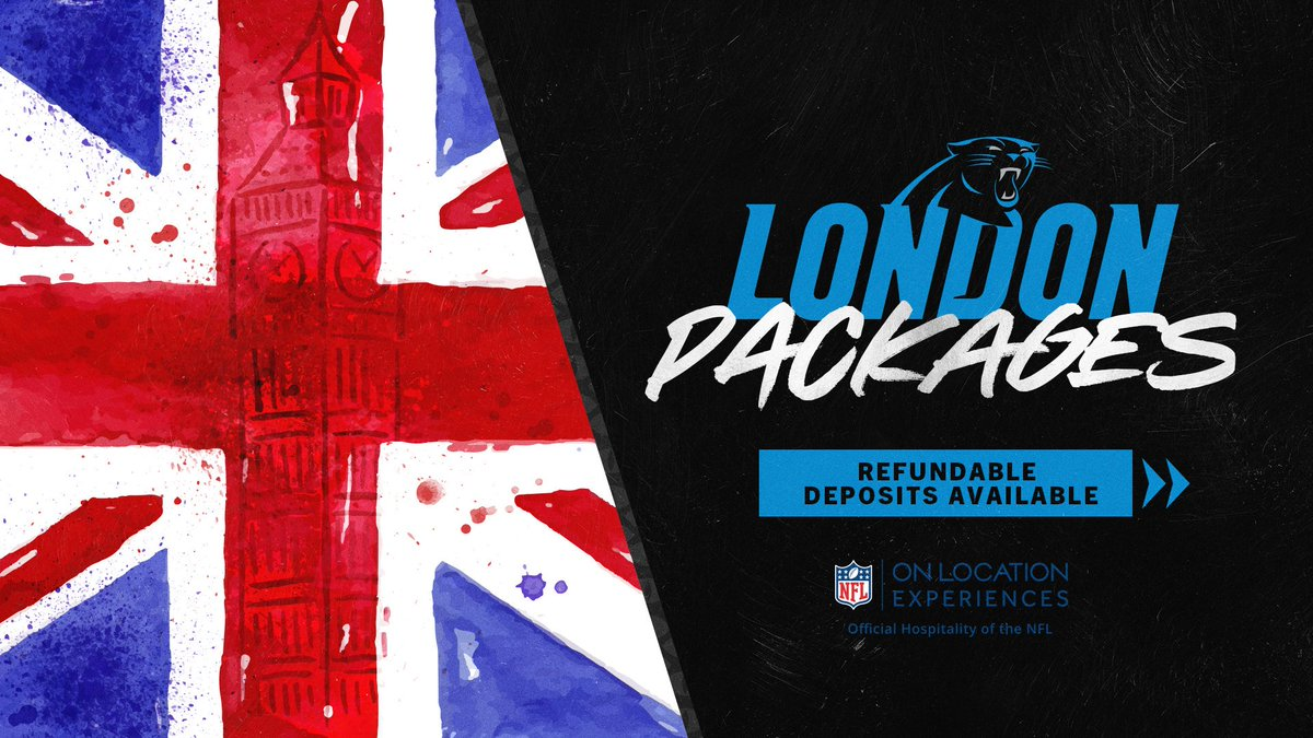 Who's coming with us? 🔗 » panthers.com/london-packages