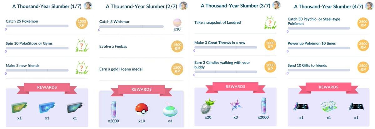 A Thousand-Year Slumber (Part 1, 2, 3 & 4) #PokémonGO <br>http://pic.twitter.com/xAg7GwHNlN