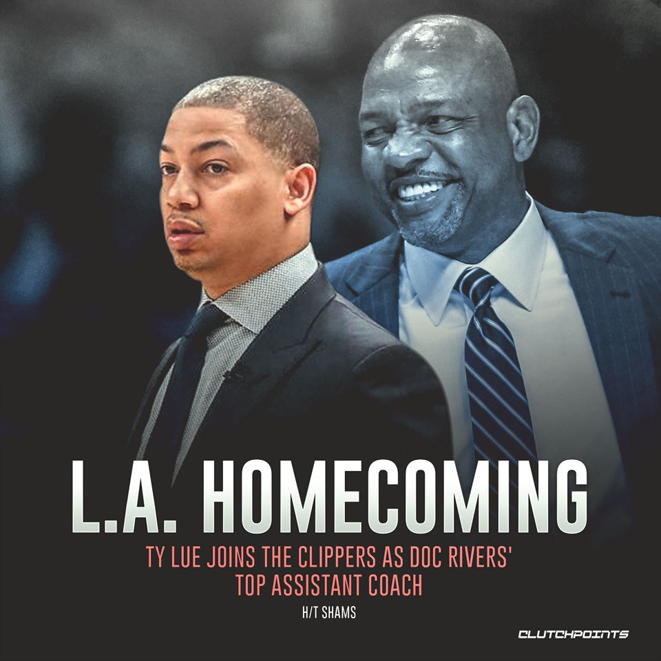 Ty Lue left the #Clippers in 2014 as one of the top young assistant coaches in the NBA. Now, hes coming back as a champion. #ClipperNation #NBA #NBATwitter