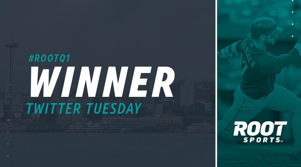 2 stolen bases + 11 runs = 1⃣3⃣combined stolen bases and runs in tonight's game against the Rays. Congratulations @Garrity73, for guessing #ROOTQ1 correctly! Enjoy your new Mariners Beach Towel!