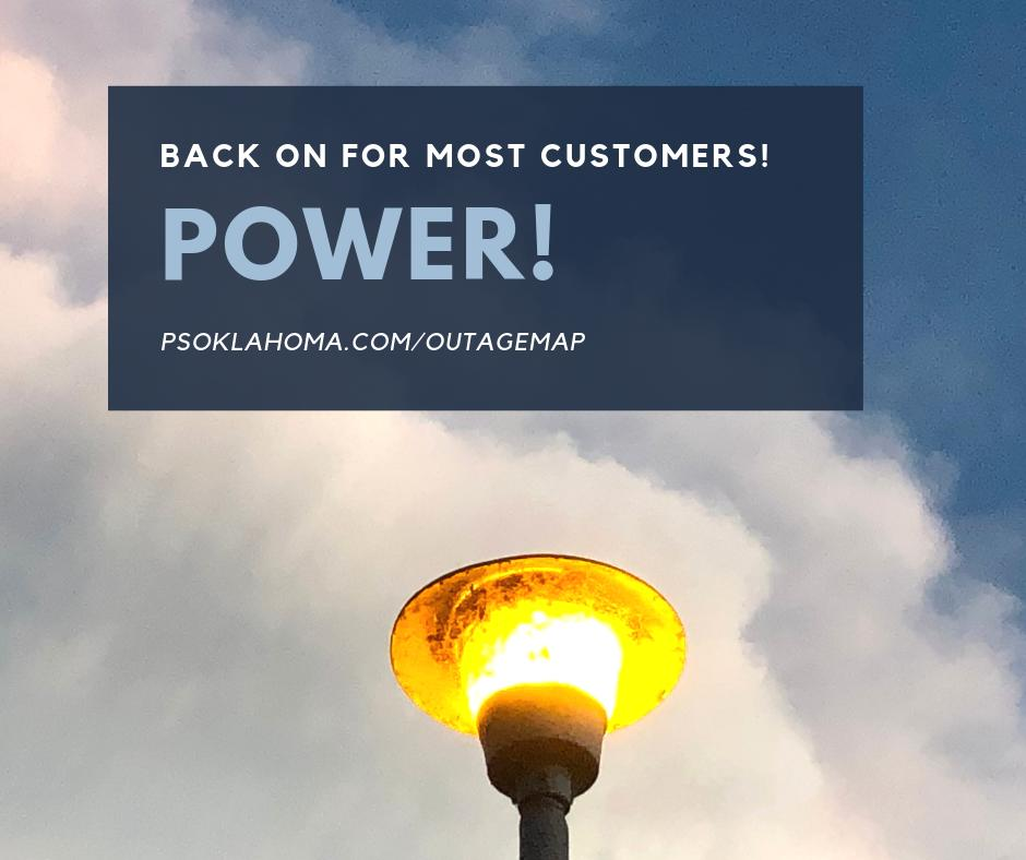Aep tulsa power outage