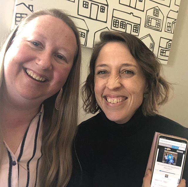 Listening to Out of the Ordinary Podcast together (@livingxdesign ). It's sooo good! We love these Ladies (@lisajobaker and @christiepurifoy ). They make our everyday ordinary sound so wonderful and good! #outoftheordinarypodcast https://ift.tt/2TRGlnxpic.twitter.com/rmgFyTyIFg
