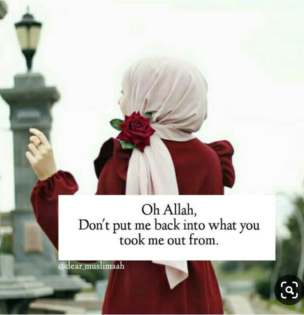 O ALLAH change me untill I'm someone you are pleased with & don't put me back into what You took me from.<br>http://pic.twitter.com/NzOQFFIQAM