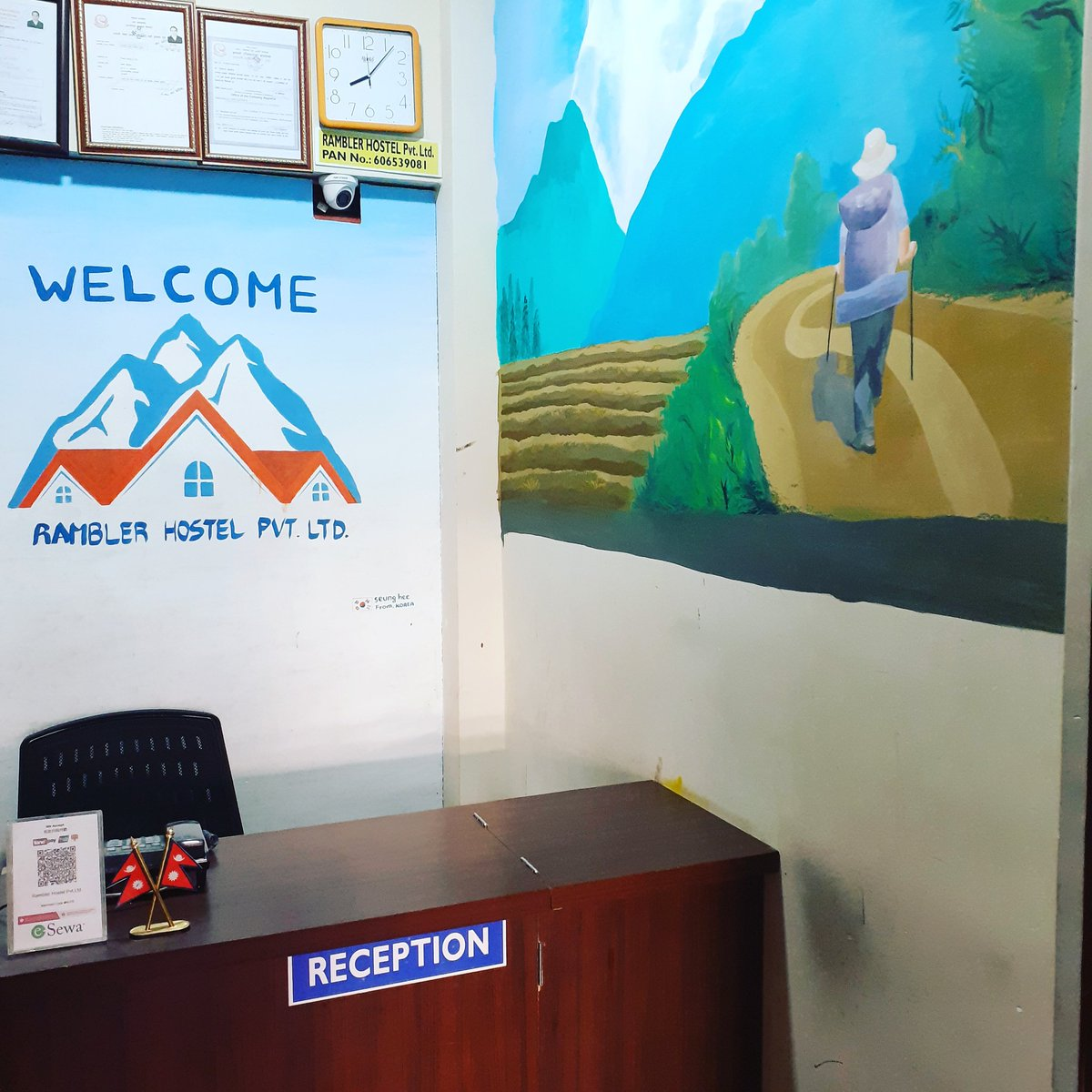 We respact our Guest. We will required your details to check in then only you will get room. Our responsibility for our guest safty. #hostelworld #travelerblogger #solotraveler #guestsloveus #holiday #ramblerhostel #localhostel #booking #kathmanduvalley #namaste #welcome