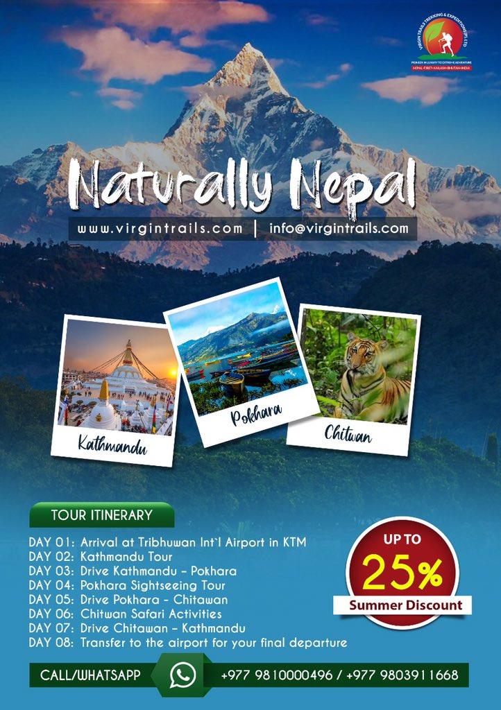 Website: http://www.virgintrails.com#virgintrialspvtltd #virgintrails #Nepal #nepaltour #nepaltrekking #Nepalpackages #trekking #adventure #trekkingtrip #trekkingpackages #indiatonepal #mountains #mountainscalling #tourpackage #kathmandu #kathmanduvalley #pokharavalley #trip