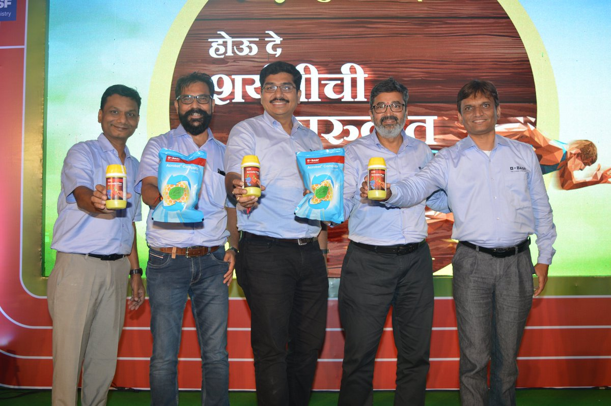 Basf On Twitter Grape Farmers In India Will Be Able To Protect Their Crops And Boost Productivity With The Help Of Two Innovative Fungicides Launched By Basf Acrobat Complete And Sercadis