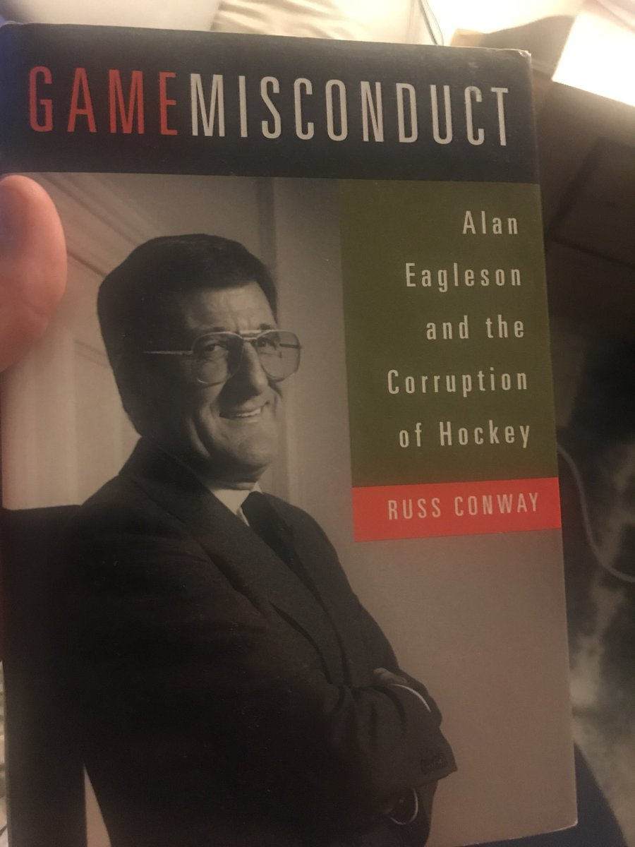 Alan Eagleson and the Corruption of Hockey Game Misconduct