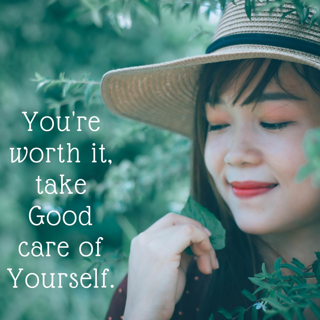 Sometimes, in life  theres so many things happening that we forget our worth! Take care of yourself. #care  #you re worth it #self  #life .