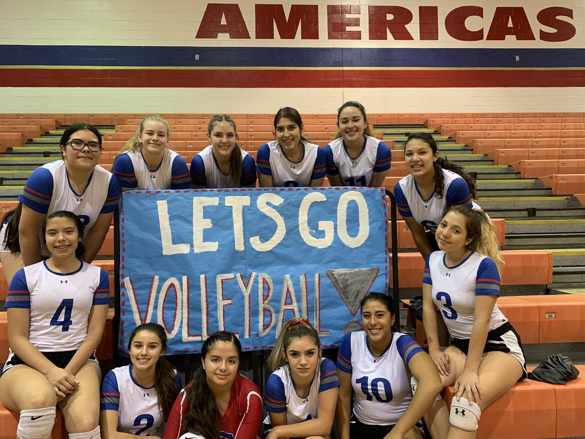 Congratulations JV on your victory against the El Paso High Tigers (25-20, 25-16) What a game girls! Thank you to all who came to supports us tonight!!   @mericasVball   #LightTheFire<br>http://pic.twitter.com/CCwY6iudFB