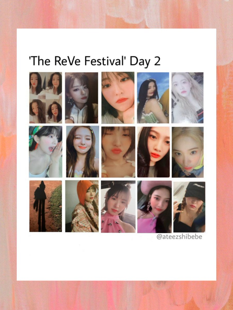 Red Velvet - 'The ReVe Festival' Day 2 photocard template  all these photocards are so cute (still don't know how I feel about that irene pc)  #SayUmpahUmpah #Irene #Wendy #Joy #Seulgi #Yeri #ReVeFestivalDay2 #RedVelvet @RVsmtown<br>http://pic.twitter.com/UueG3ziH9I