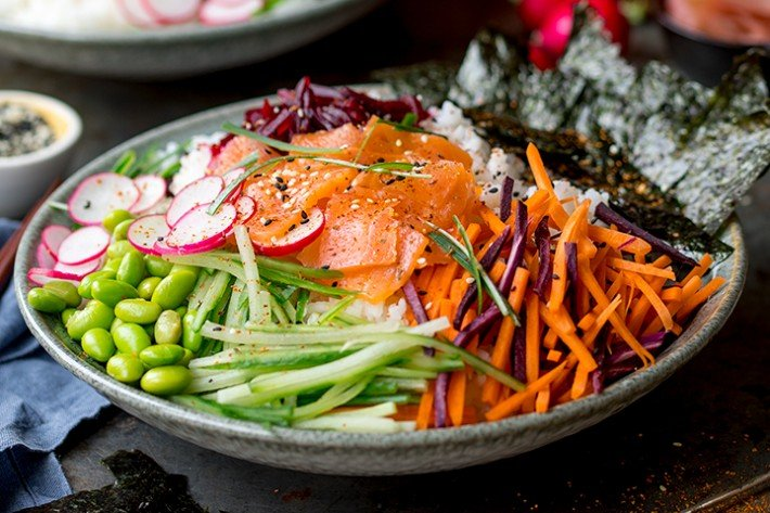 Sushi Salad Bowl Recipe:  https:// bit.ly/2zaZPdf       By:  http:// foodrhythms.com/KitchenSanctua ry   …   @KitchenSanc2ary #foodrhythms #sushi #salads #salad #healthylifestyle #HealthyLiving #HealthyFood #HealthyEating #HealthyLife #recipes #chef #RecipeOfTheDay #recipe<br>http://pic.twitter.com/IeUS3TeHcr