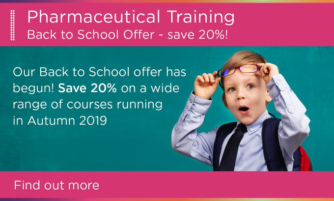Accredited Pharmaceutical Training Courses | RSSL