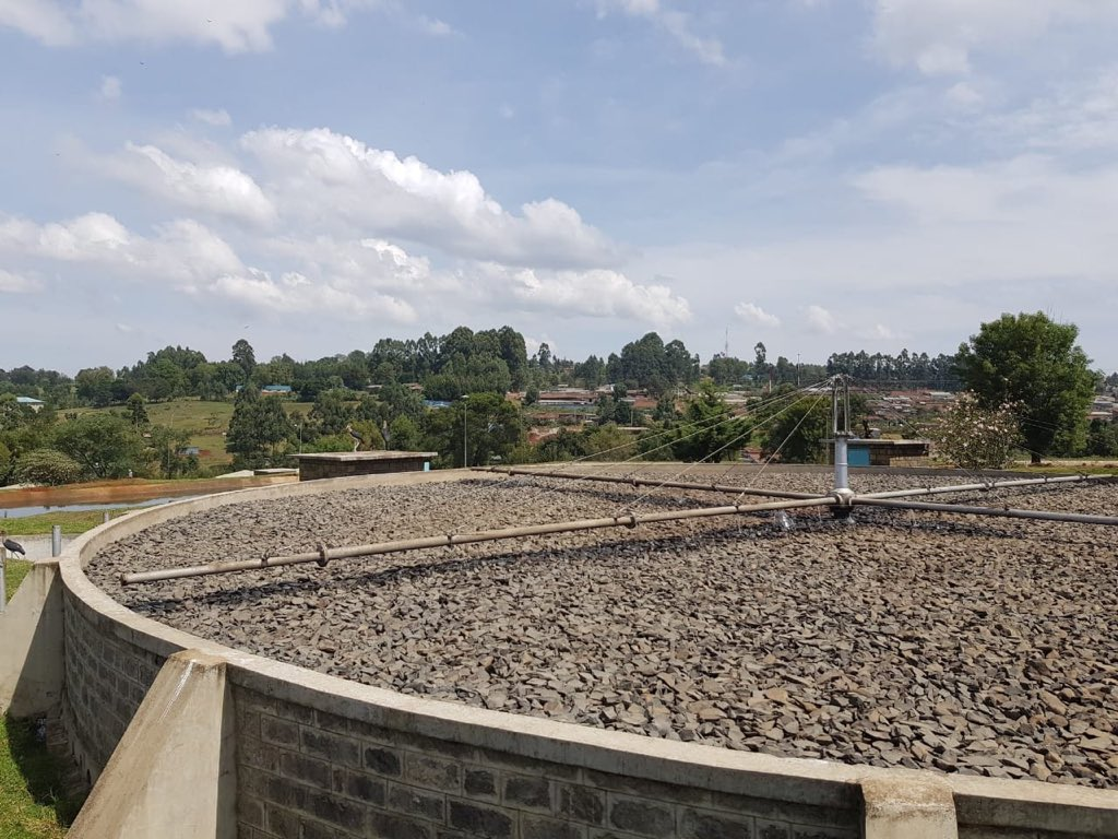 Around 80,000 residents of Kericho can look forward to better sewerage services after the completion of rehabilitation works on the sewerage treatment plant and the construction of modern sanitation facilities in the town. #GoKDelivers ^LC<br>http://pic.twitter.com/r0U04X6He2