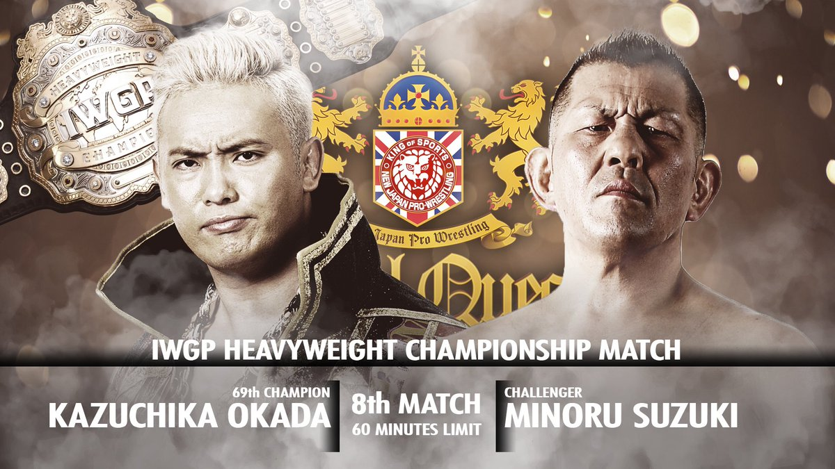 Four historic title matches.  Personal grudges fought out.  New alliances forged.  A triumphant phoenix flies.  #NJPWRoyalQuest will be unmissable! Last tickets at  http:// ow.ly/WgEP50vE43V      Or watch live, on any device, exclusively on @FiteTV! #njpw <br>http://pic.twitter.com/37zSWoUzdt