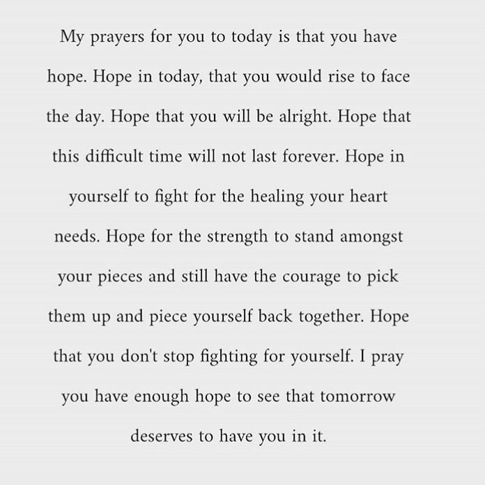 #Hope #TrueQuotes #LifeQuotes #Quotes #Motivation #PositiveVibes This is my prayer for you today #Inspiration<br>http://pic.twitter.com/WlO71Jmf6e