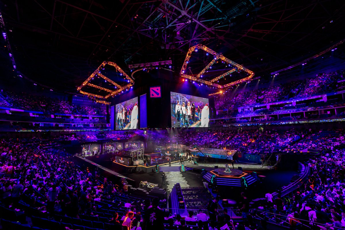 Proud to be supporting this monumental event for Dota and Esports. #TI9   Every competitor on stage is using a 240 Hz G-SYNC monitor and RTX 2080 Ti GPU for the ultimate high framerate competitive experience.   #FramesWinGames <br>http://pic.twitter.com/XgSlCWWafV