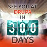 Image for the Tweet beginning: #drupa is only 300 days