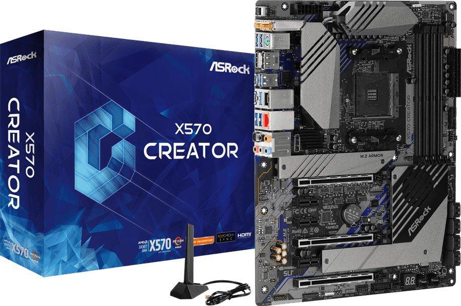 ASRock社製 X570チップセット搭載 マザーボード 2製品 発売