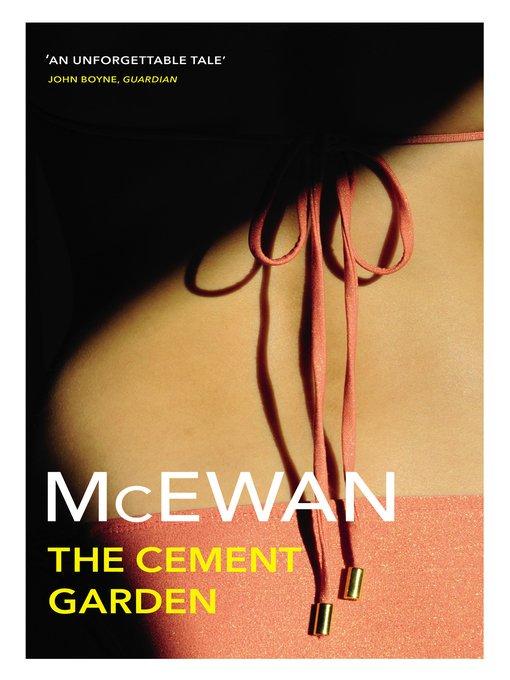 #amreading started The Cement Garden by Ian McEwan, borrowed from @GlasgowLib via @OverDriveLibs<br>http://pic.twitter.com/LgU3bmfmR0