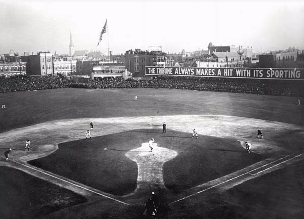 RT @onemillioncubs: 1906 World Series: Chicago Cubs vs Chicago White Sox https://t.co/mK5yqPuneL https://t.co/NYJz0jfY4g