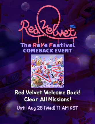 [#RedVelvet Festival is now under way~]  Play #UmpahUmpah today! Clear Missions! Get New Theme Reward! Win Signed CD! Let's dive into this exciting event~~~  #RedVelvet #RVF #TheReVeFestivalDay2 #음파음파 #UmpahUmpah<br>http://pic.twitter.com/ANGTZTuA8E