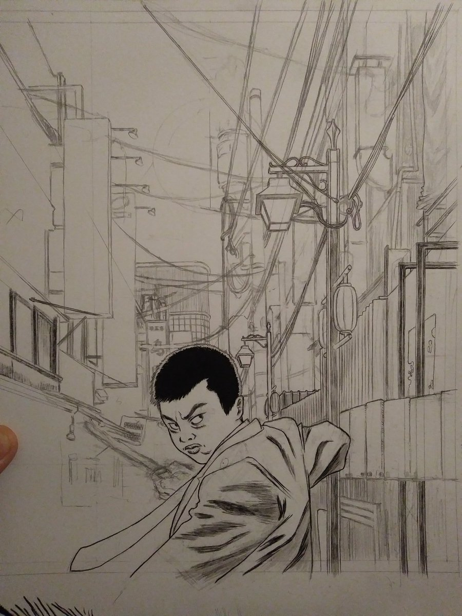 I'm inking and house sitting a very good boy, problems are on hold for tonight<br>http://pic.twitter.com/IRZDDLA8KM