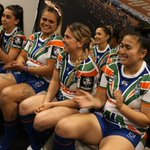 Image for the Tweet beginning: The moment our #NRLW players