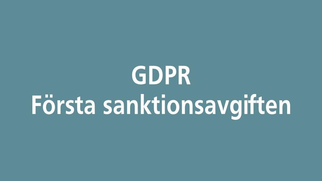 Hashtaggen #gdpr på Twitter