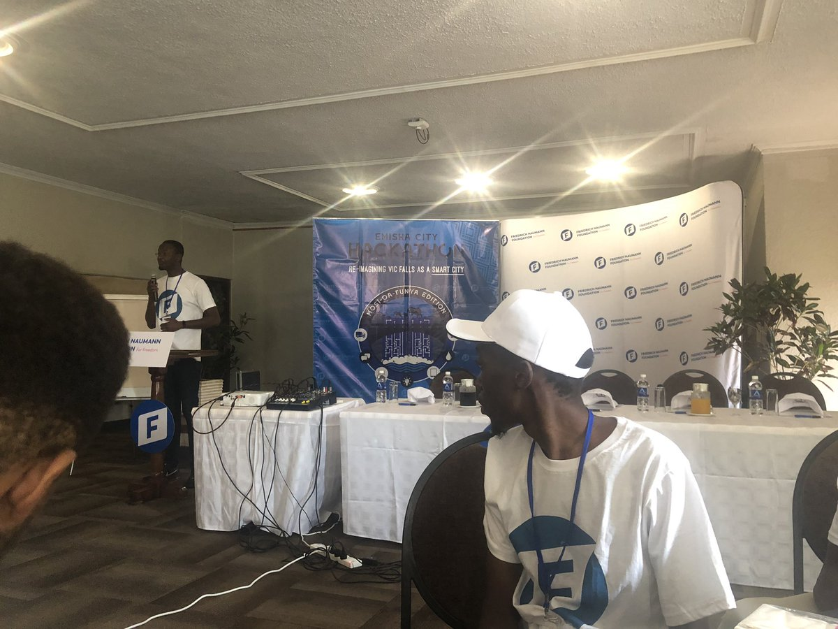 At the #victoriafallshackathon Great work being done by @FirstSourceTec   #FNFGIhub #FNF, #freedomfoundationafrica  #victoriafallshackathon  #Asakhe<br>http://pic.twitter.com/S9Uo5PzMyJ