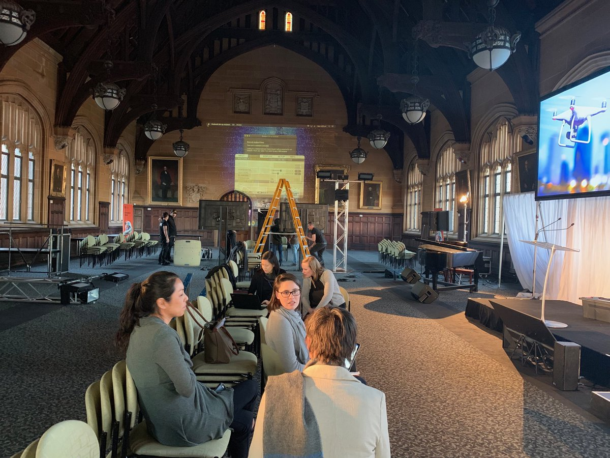 Getting excited about Sydney Uni's Innovation Week Gala Dinner tomorrow night! The biggest yet with over 260 ppl coming to a modern transformation of McLaurin Hall to hear about our latest spinouts, startups and major R&D successes #usydinnovation @Sydney_Uni<br>http://pic.twitter.com/5XsBpVQsIk