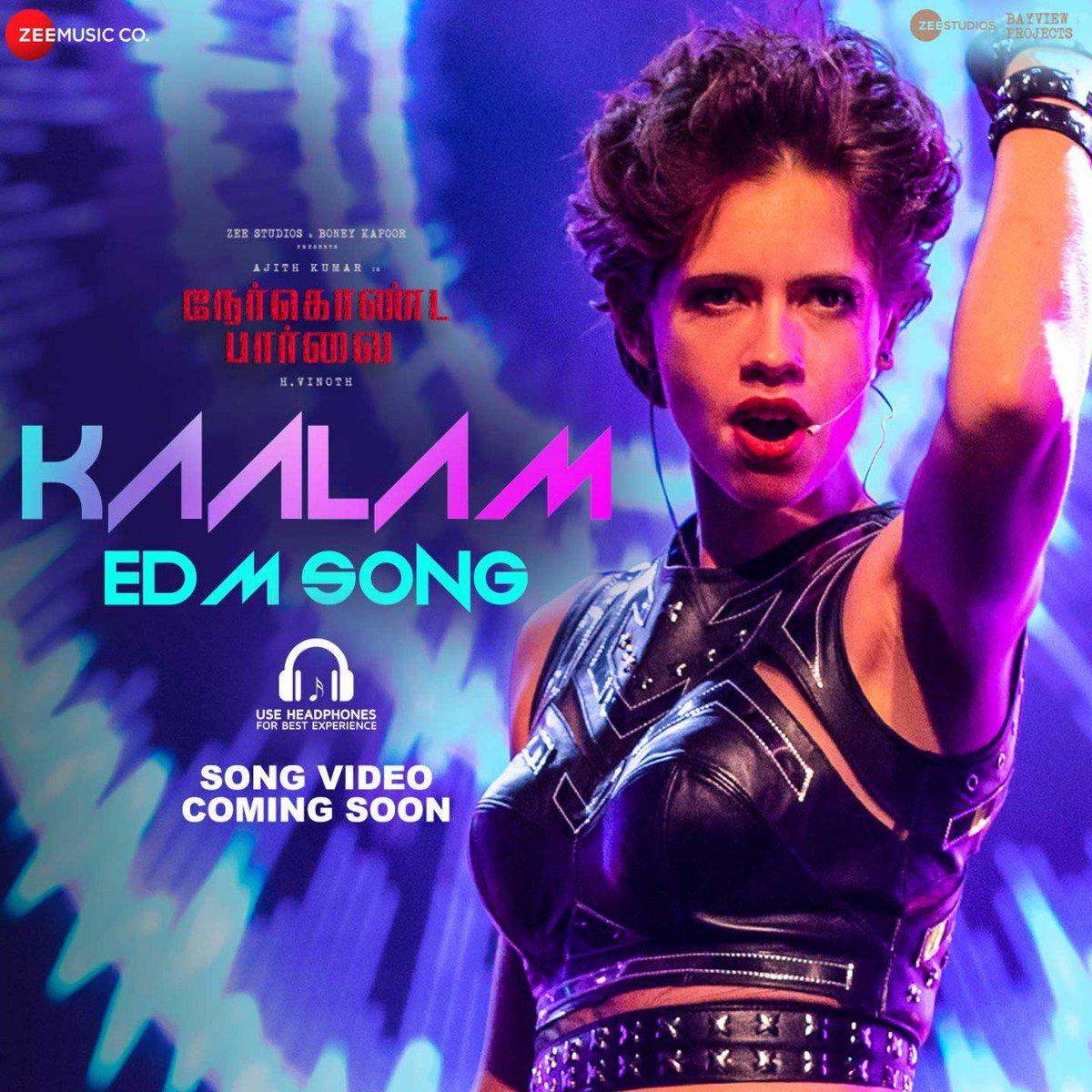 Peppy EDM Song #Kaalam Video Song From #Nerkondapaarvai will Be Out Today...<br>http://pic.twitter.com/yd7s5ZjRzg