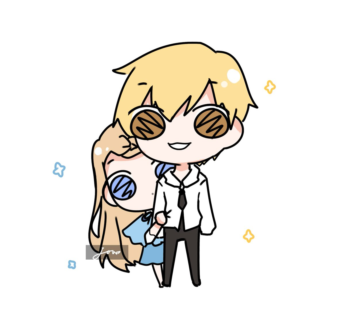 Chibi doodle commission for @Jrohmm3   Thanks so much for commissioning me ^^  Chibi doodle comms open for $10 if youre interested feel free to dm me!  Heres the form: https://t.co/ONCo8dHlml https://t.co/m4JzVOC151