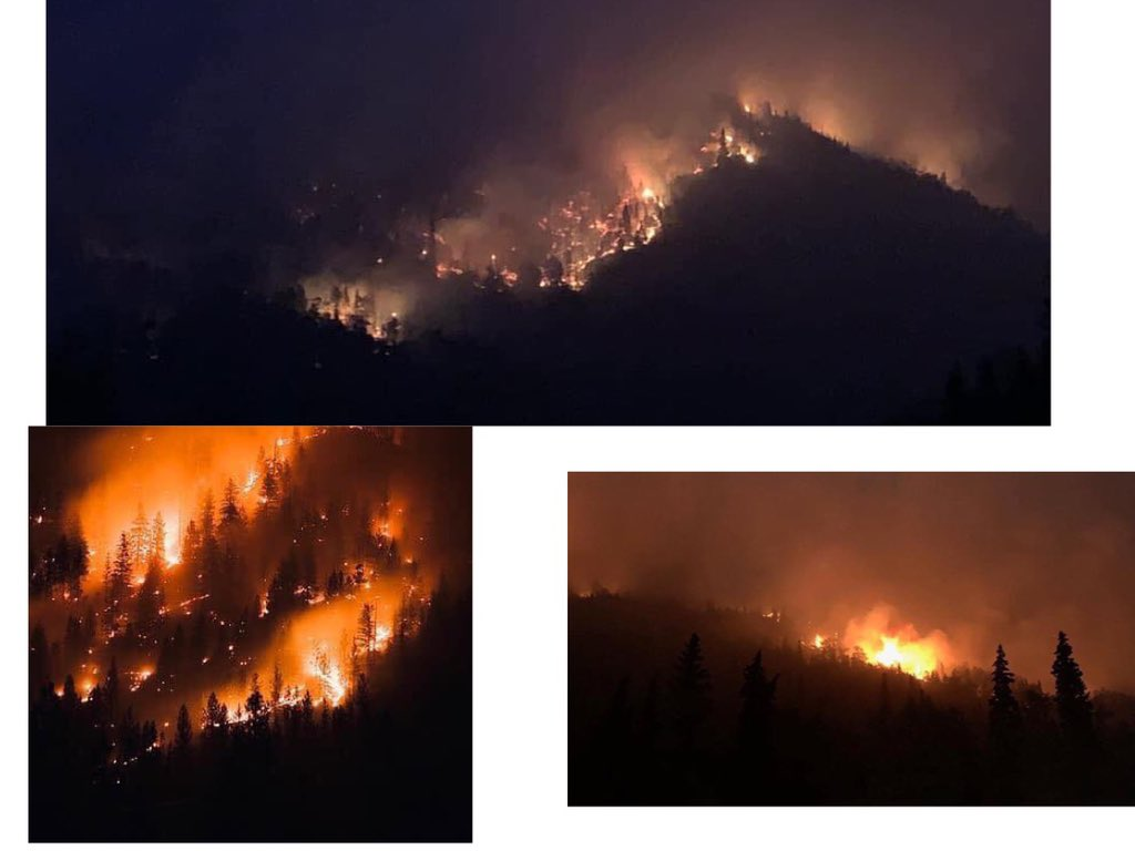 Alaska is on fire as well. breaks my heart these places are beautiful and nothing has really been posted about it.. #prayforalaska<br>http://pic.twitter.com/i8r1FPwvke