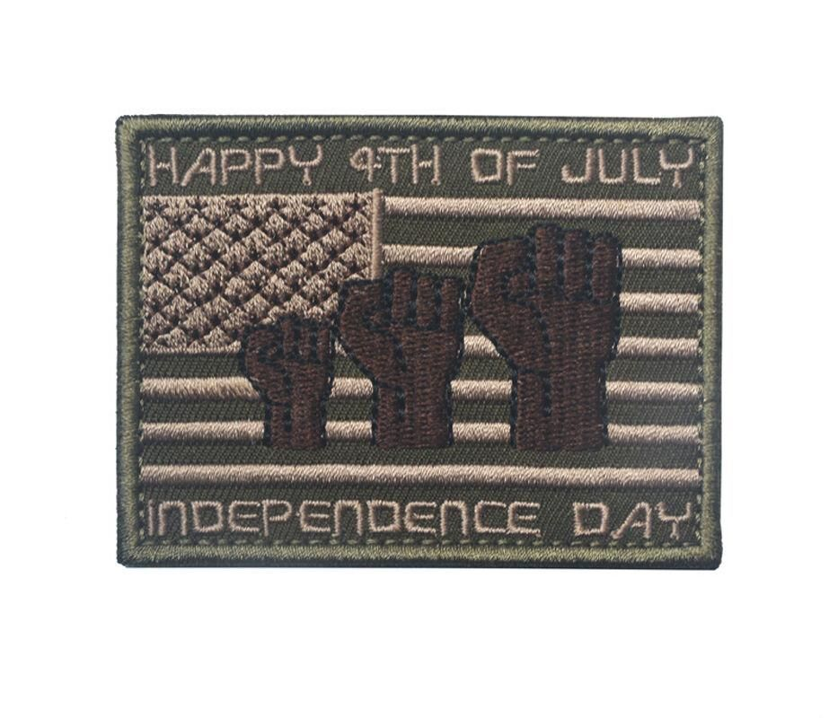 Happy 4th of July Embroidered Tactical Patch https://t.co/qOUyOrGyN6 https://t.co/u4IDY9iheu