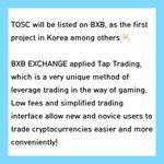 Image for the Tweet beginning: 🔸BXB EXCHANGE Announcement Link »   🔸BXB