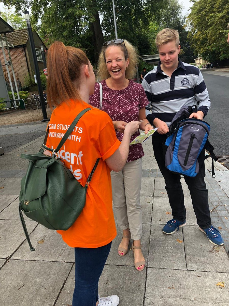 Our eventeemers creating a buzz for @CRM_Students Accommodation in Egham at Royal Holloway University #experientialmarketing #promo<br>http://pic.twitter.com/NEG5dkJmpK