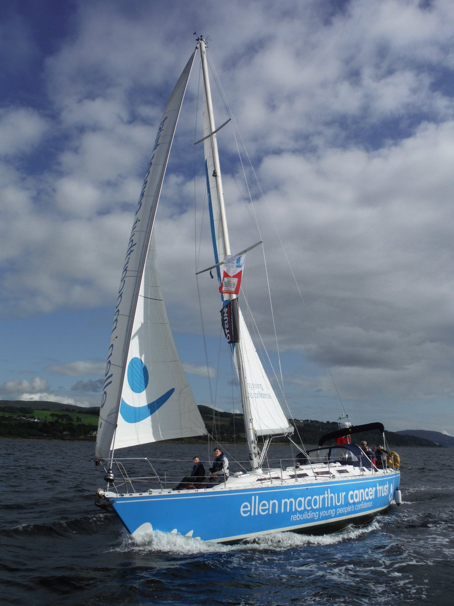 To celebrate Moonspray turning 30, we've tasked young people sailing with us in Largs to treat the week as a birthday photoshoot 📸 Those on board Kea really stepped it up! Have you seen Moonspray out and about on the Firth of Clyde?