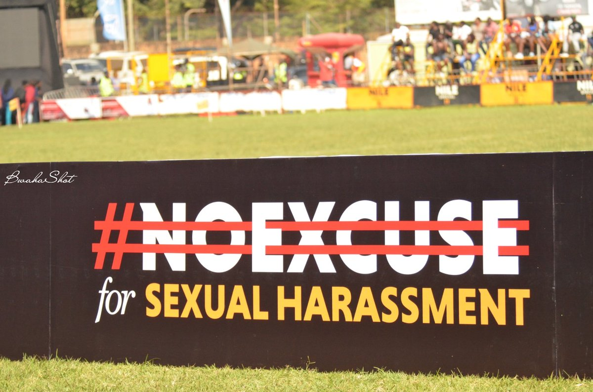 #NoExcuse For sexual harassment. <br>http://pic.twitter.com/CiQ41wfRdB