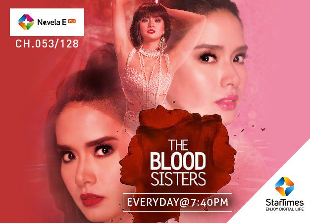 Image result for the blood sisters promo on star times