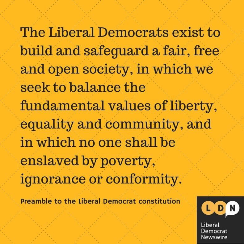 So proud to be part of  @LibDems and #LibDemSurge. We share values that care for everyone - even those who don't vote for us  <br>http://pic.twitter.com/Sh0zvX6pPn