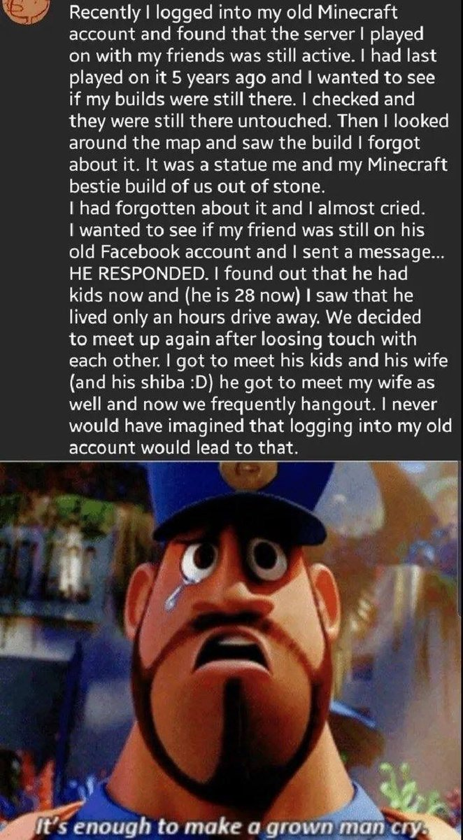 A cool gaming story to bring a little positivity to your day  <br>http://pic.twitter.com/2olYDCcclE