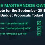 Image for the Tweet beginning: #Phore #Masternode owners. It's time