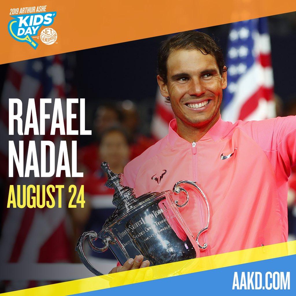 Rafa Nadal @RafaelNadal