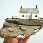 Image for the Tweet beginning: Driftwood Animals and Beach Homes