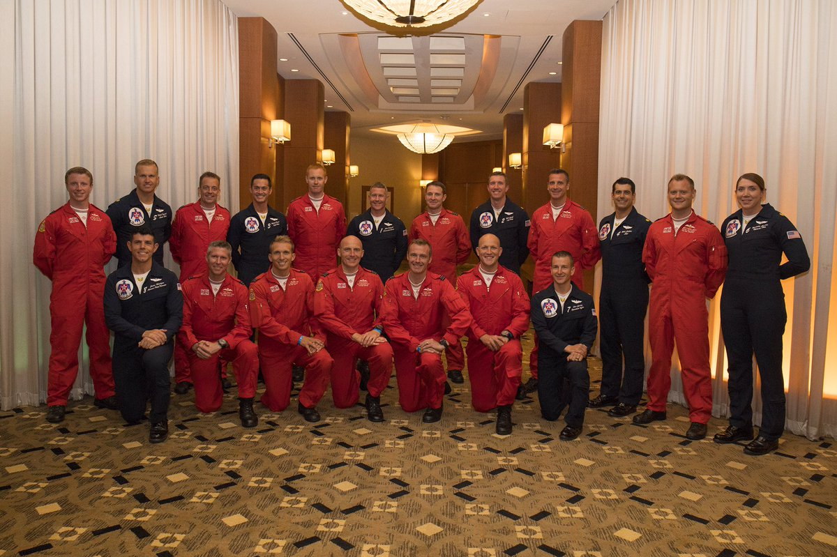 It was great to meet with the @AFThunderbirds in Atlantic City. We are really looking forward to flying with the team along the Hudson in New York City, from 9am tomorrow. #RedArrowsTour<br>http://pic.twitter.com/KXDKcycjOY
